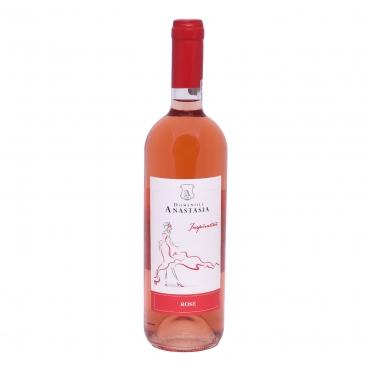 Mystery Cabernet Sauvignon & Merlot 2018, rose demi-dulce